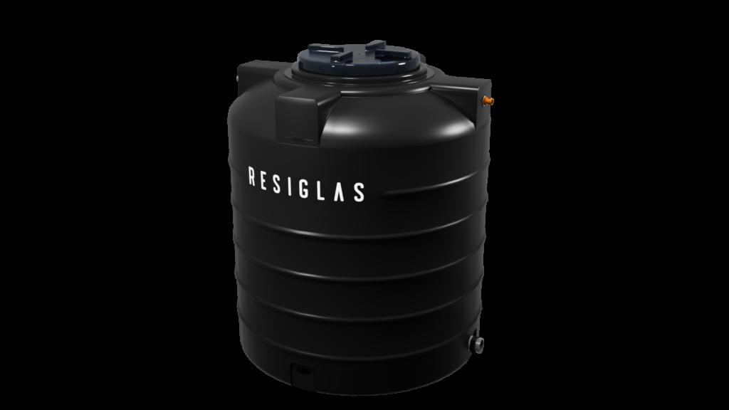 Black knight resiglas polychrome water tank