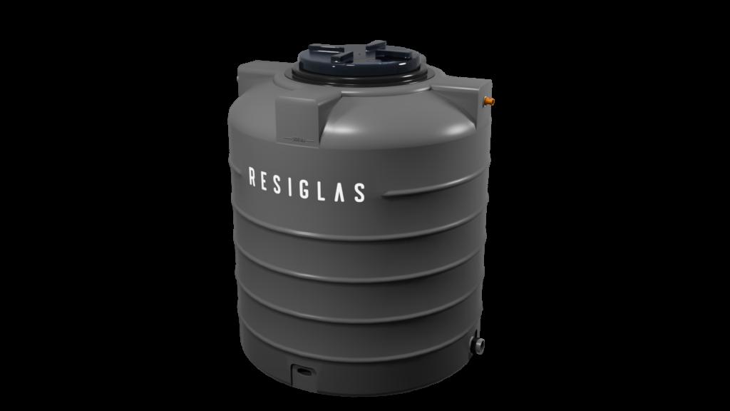 grey stone resiglas polychrome water tank