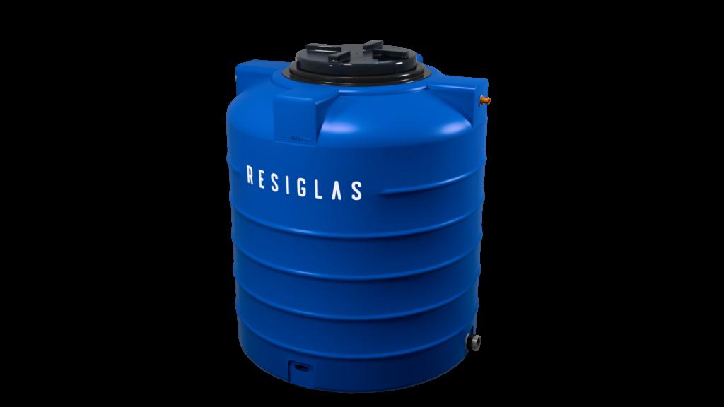 ocean blue resiglas polychrome water tank