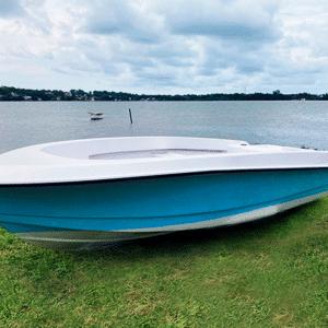 Legend 13 boat Resiglas